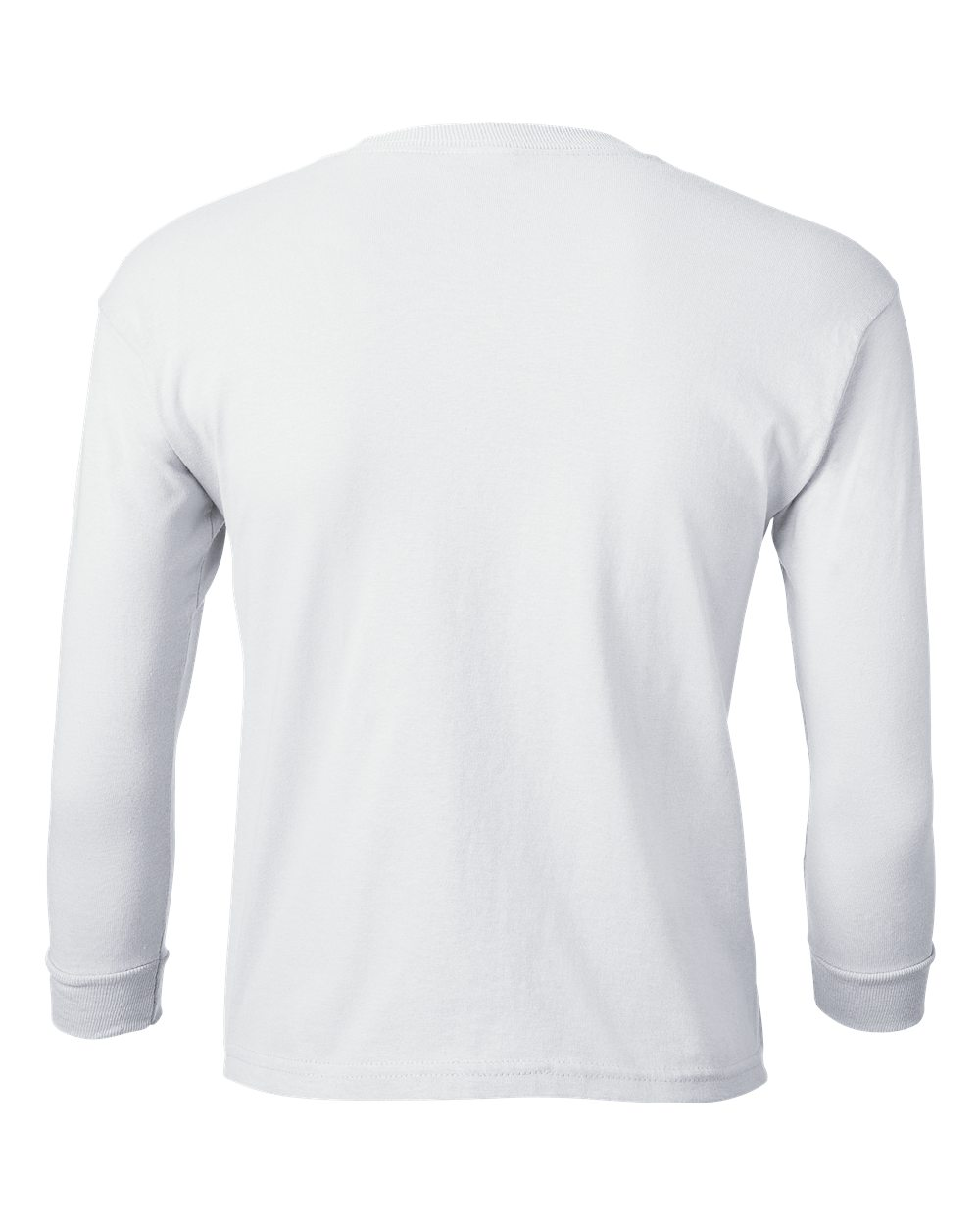 Gildan 100 ultra cotton long sleeve youth t shirt shirt for White cotton long sleeve t shirt