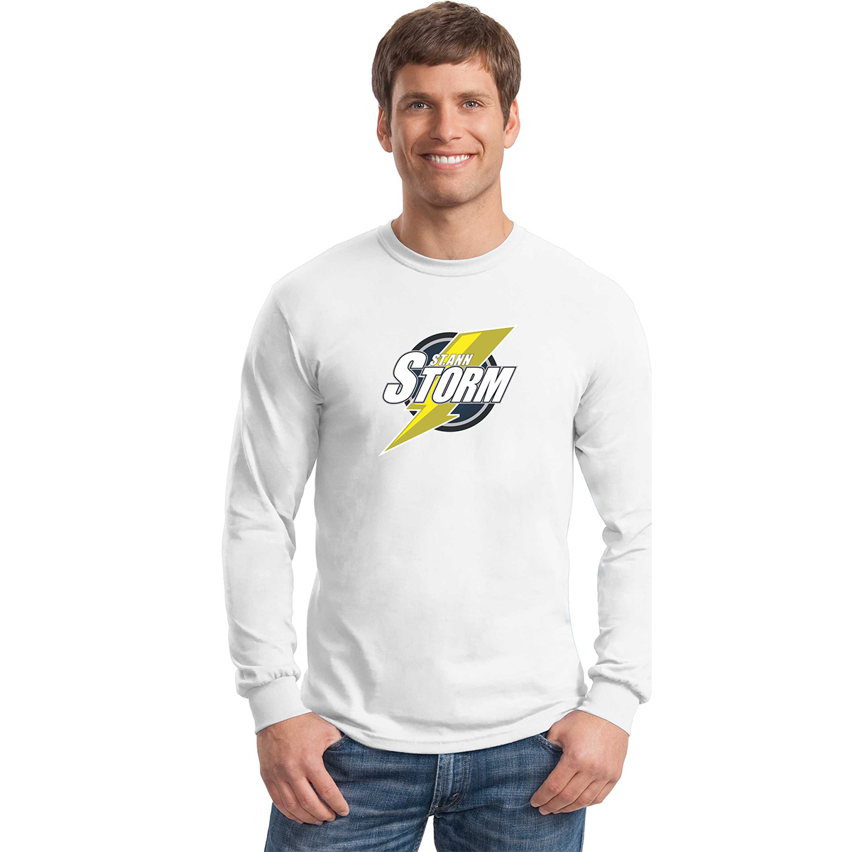 St. Ann Storm 2017 Staff Spiritwear Adult Long Sleeve T ...