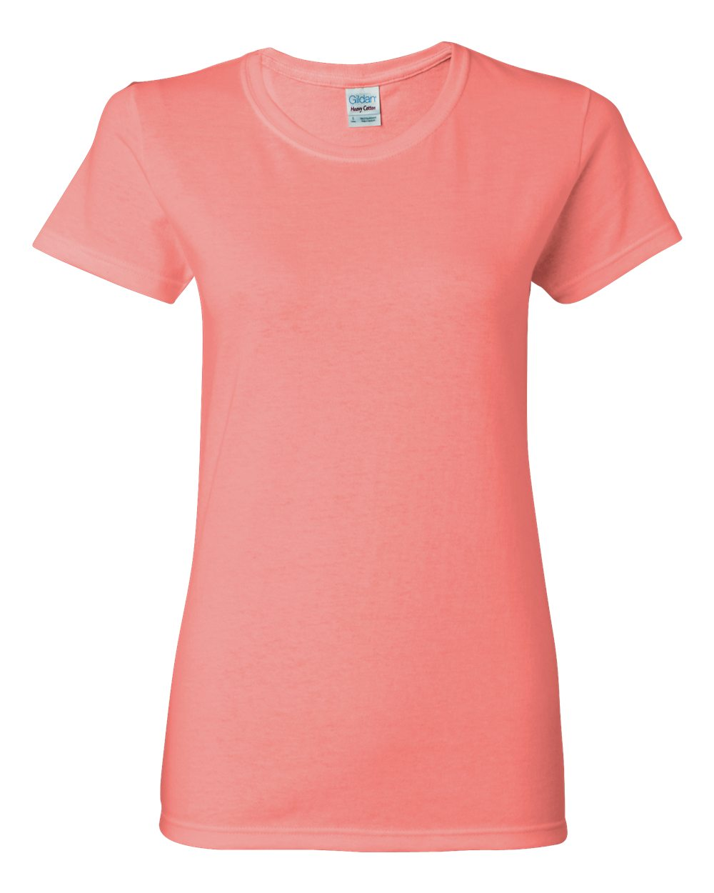 Ladies gildan 100 heavy cotton t shirt item 5000l big for Diamond and silk t shirts
