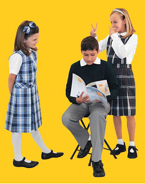 Girls and Boy student